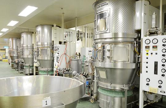 流動層造粒(顆粒化)装置〜包装について